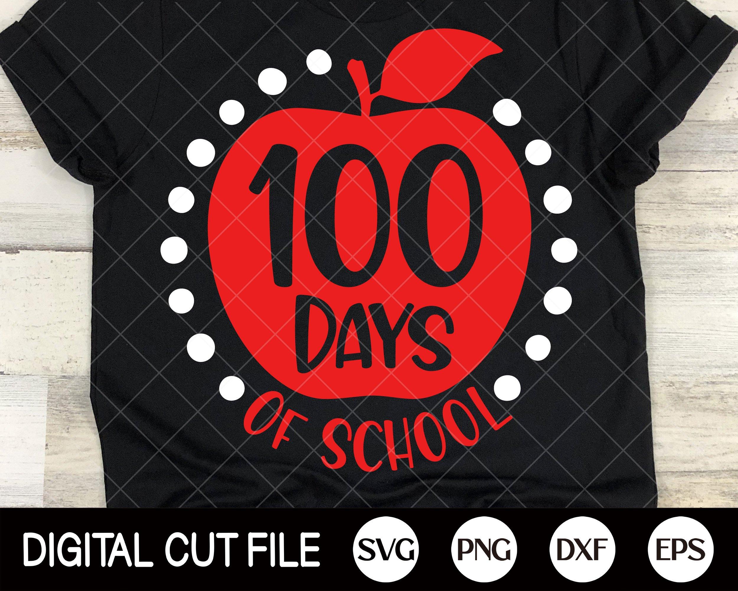 Download 100 Days Of School Svg Back To School Shirt Design Teacher 1166230 Cut Files Design Bundles