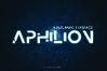 APHILION - A Futuristic Typeface example image 1