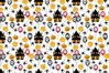 pattern design, with halloween ornament example image 1