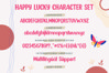 Happy Lucky - Playful Unique Font example image 5