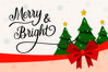 Hello Christmas - Modern Calligraphy example image 10