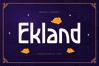Ekland example image 1