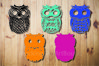 Colorful Owl Laser cut file example image 2