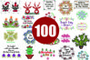 100 Cross stitch patterns PDF - INSTANT DOWNLOAD example image 1