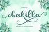 Chakilla Script example image 1