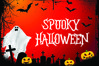 HELLOGHOST - Helloween Theme Font example image 12