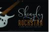 Shinyday & ROCKSTAR font duo example image 1