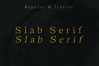 ARCHIBALD, A Classic Slab Serif example image 2