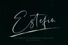 Estefin // handwritten font example image 1