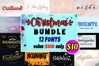 Christmas Font Bundle Collection example image 1