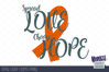 Spread Love Choose Hope | SVG DXF EPS PNG example image 2