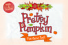 Pretty Pumpkin - Fun Serif Font with Frame example image 1