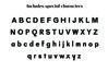 QUAMIR, A Display Font Duo example image 4