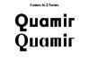 QUAMIR, A Display Font Duo example image 2