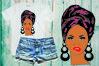 Black woman svg Natural Hair Svg Afro svg,black woman 601SV example image 1