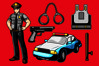 Policeman Vector Pack example image 1