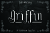 GRIFFIN, a Blackletter Typeface example image 1