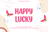Happy Lucky - Playful Unique Font example image 1