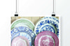 2 photographs of vintage porcelain plates. example image 4