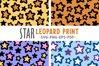 Star leopard print - svg png eps pdf example image 1