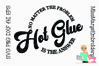 Hot Glue SVG | Crafting SVG | Cut File | Crafty SVG example image 1