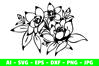 Flower Clipart Craft example image 2