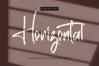 Horizontal - Signature Script Font example image 1