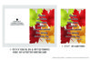 Dancing Leaves Quote - Autumn Season Printable Greeting Card example image 2