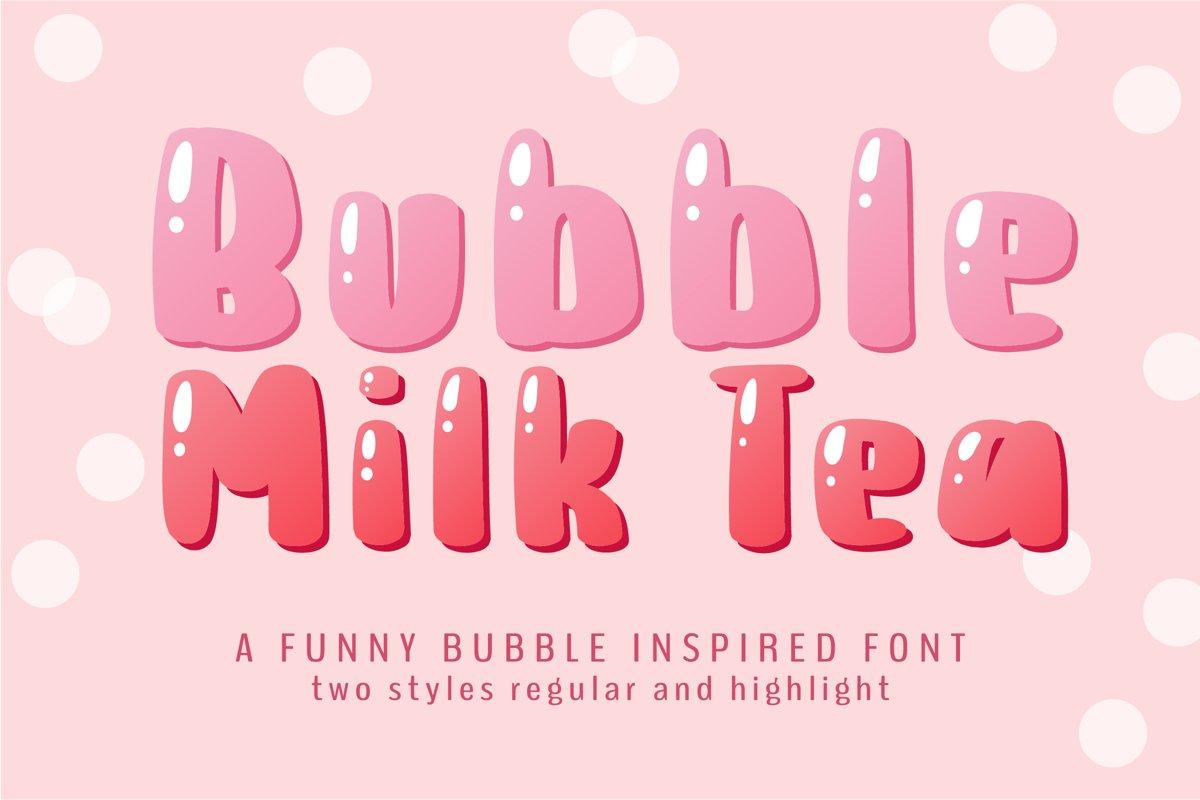 Bubble Milk Tea example image 1