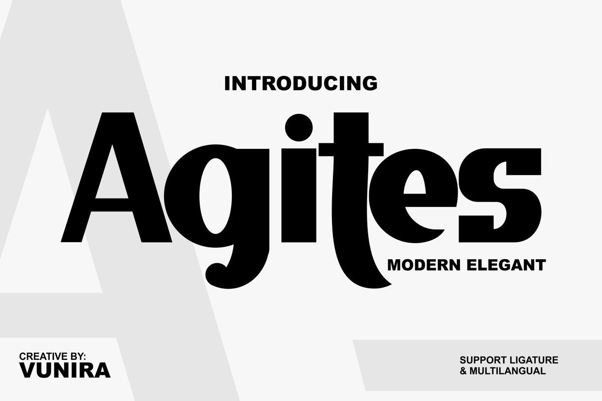 Agites | Modern Elegant example image 1