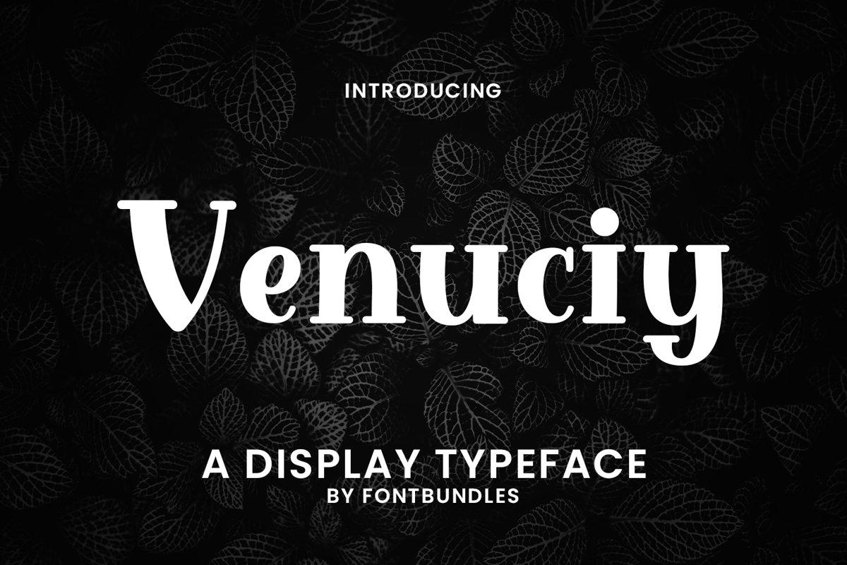 Venuciy example image 1