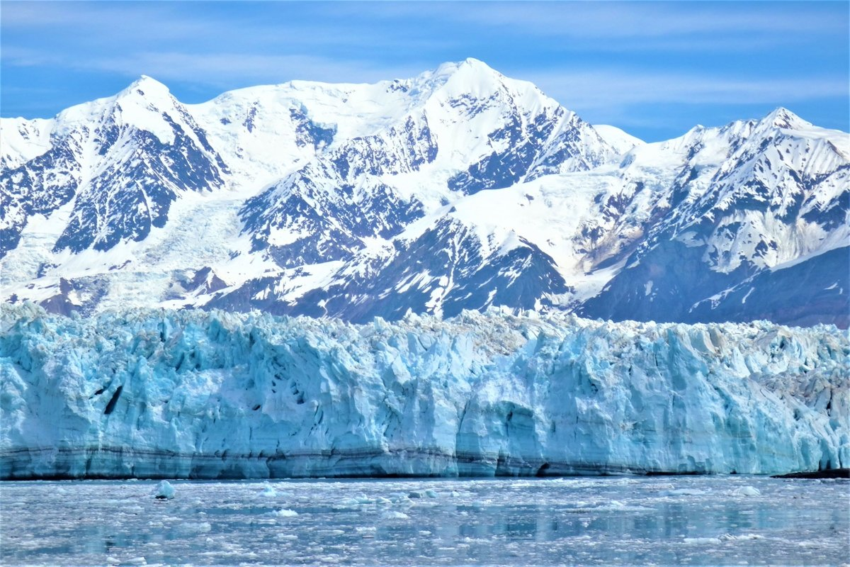 Breathtaking Hubbard Glacier in Alaska example image 1
