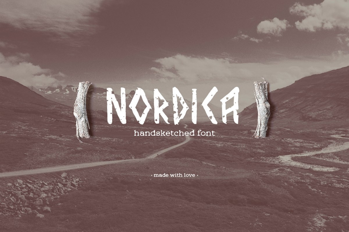 Nordica Font example image 1