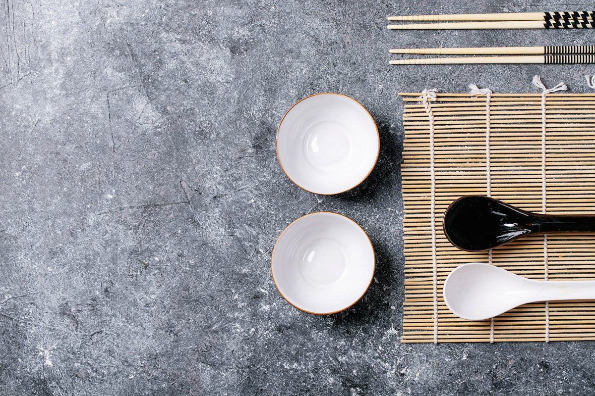 Traditional asian kitchen utensils example image 1
