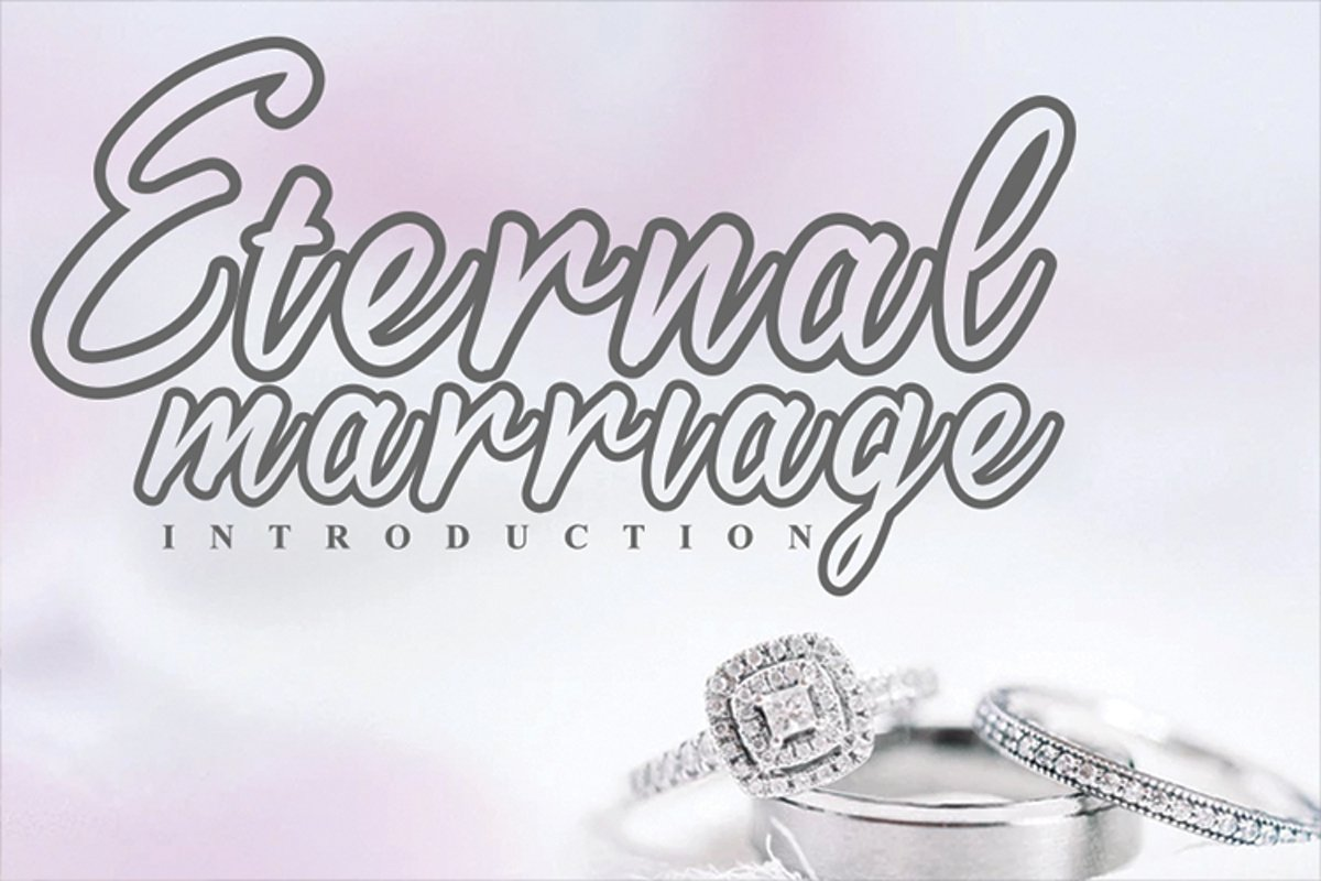 Eternal marriage example image 1