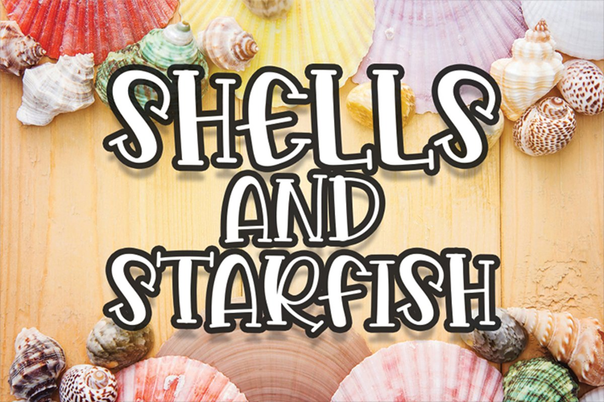 Shells And Starfish example image 1