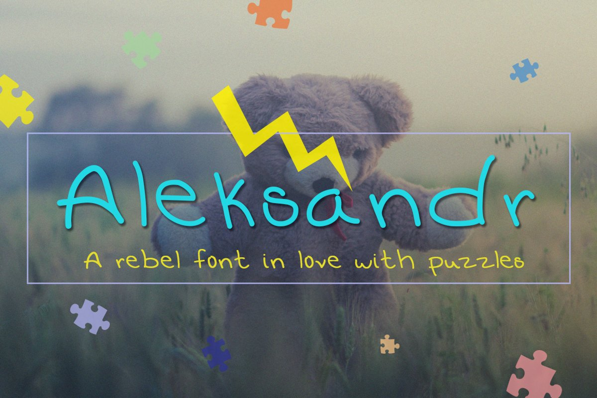 Aleksandr – Clean and Rebel Font example image 1