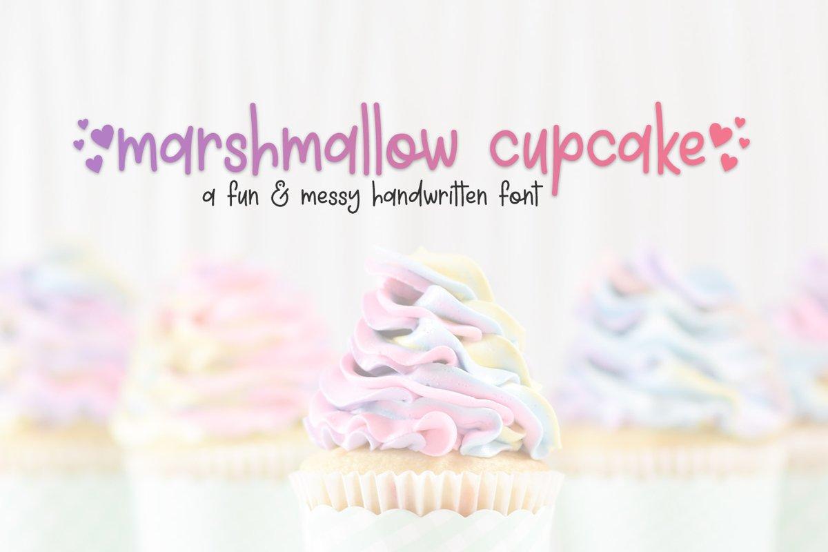 Marshmallow Cupcake example image 1