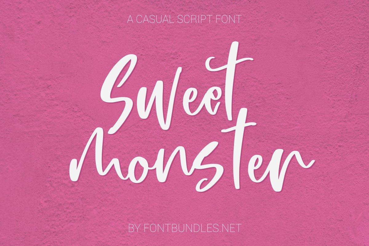 Sweet Monster Script example image 1