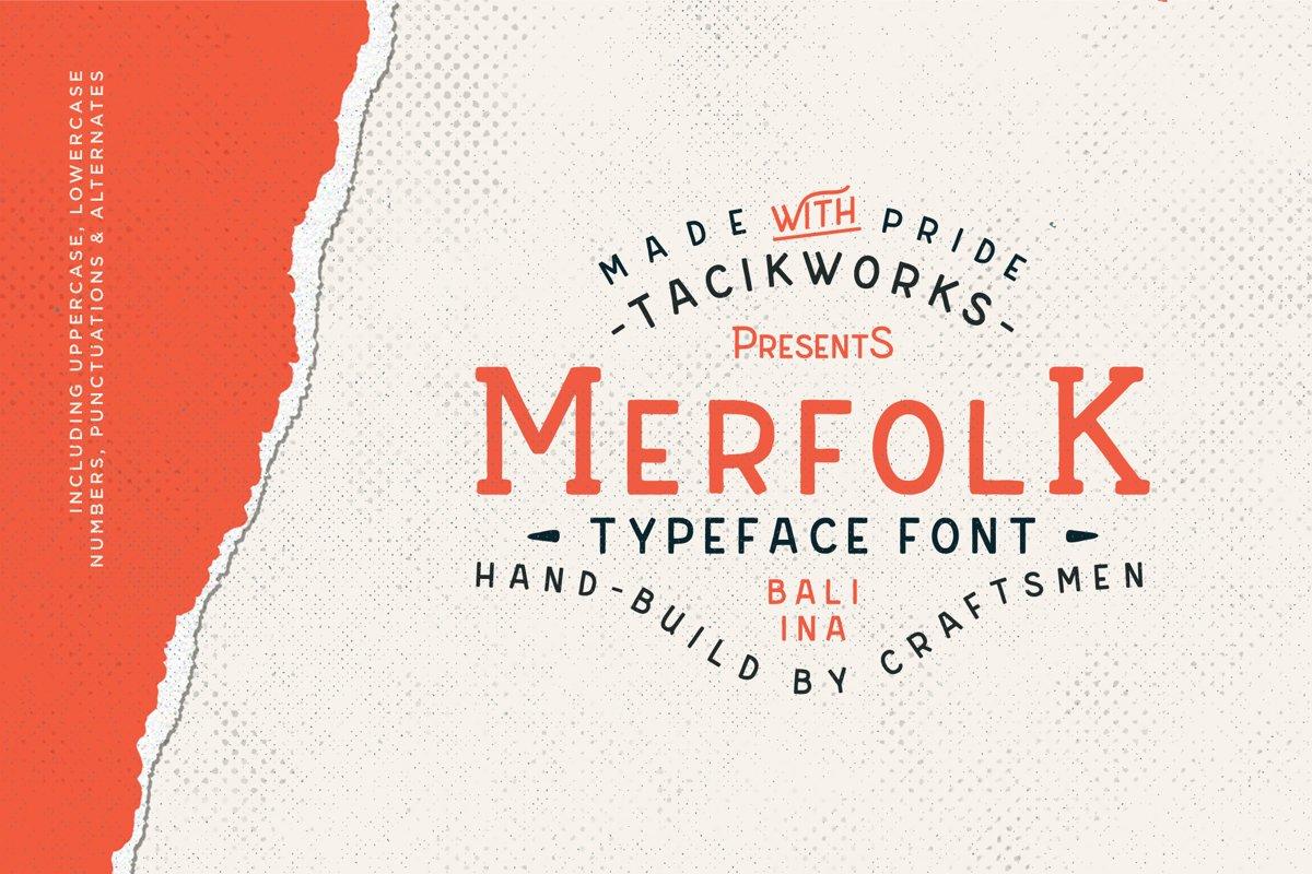 Merfolk Typeface Font example image 1