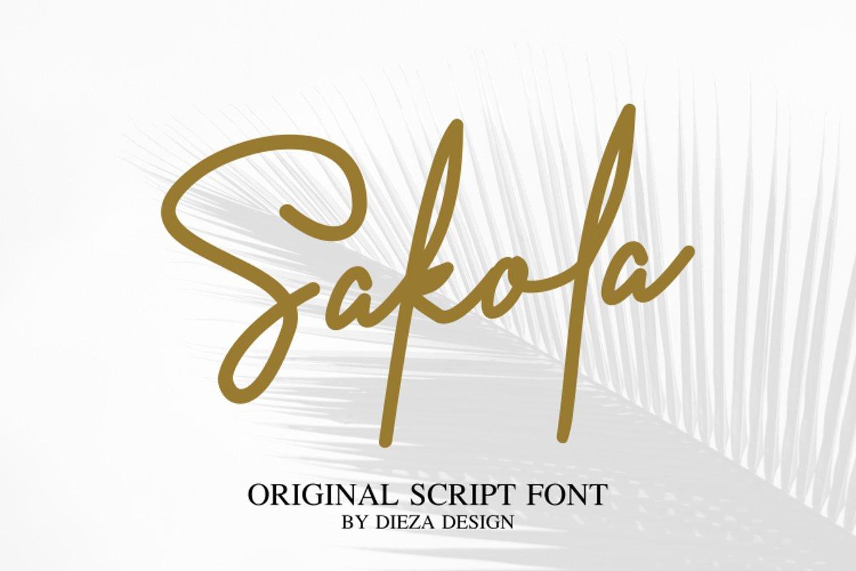 Sakola example image 1