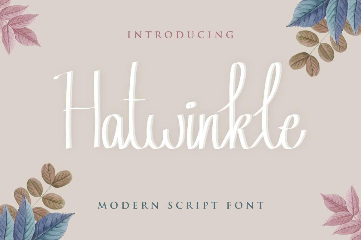 Hatwinkle example image 1
