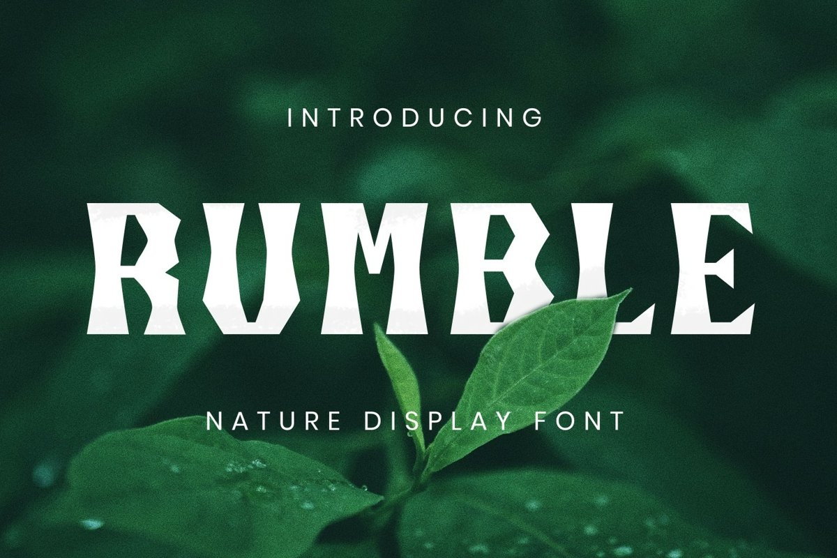Rumble Font example image 1