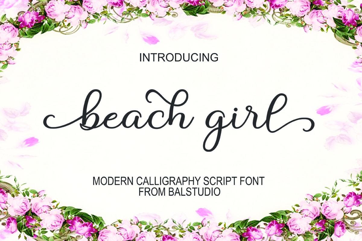 Beach Girl example image 1