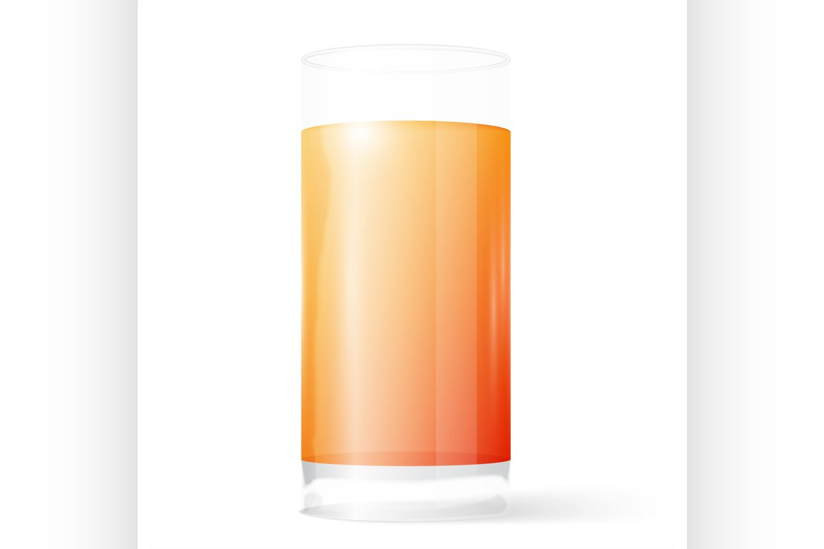 Glass of juice example image 1