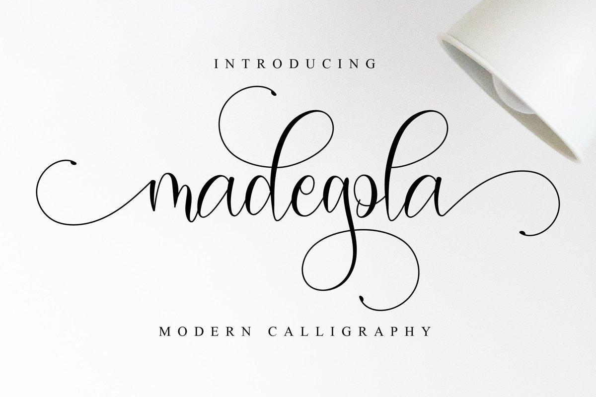 Madegola Script example image 1