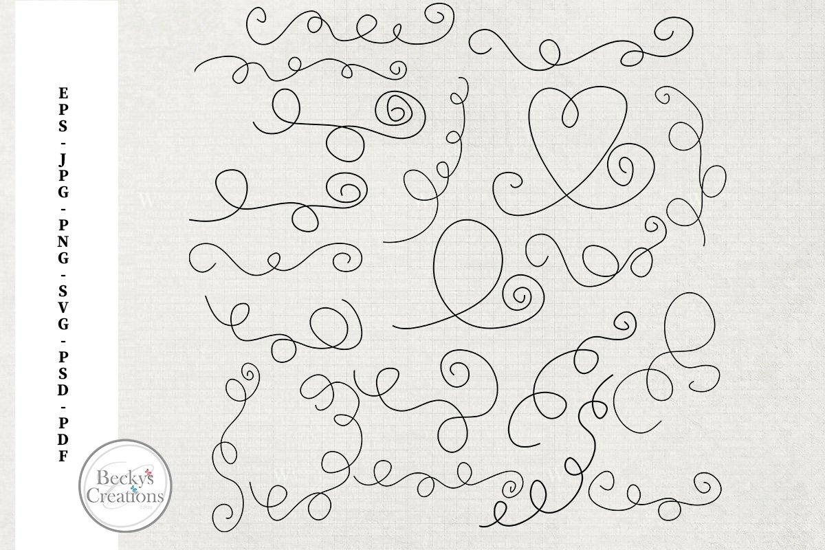 Doodle Strings Set One example image 1
