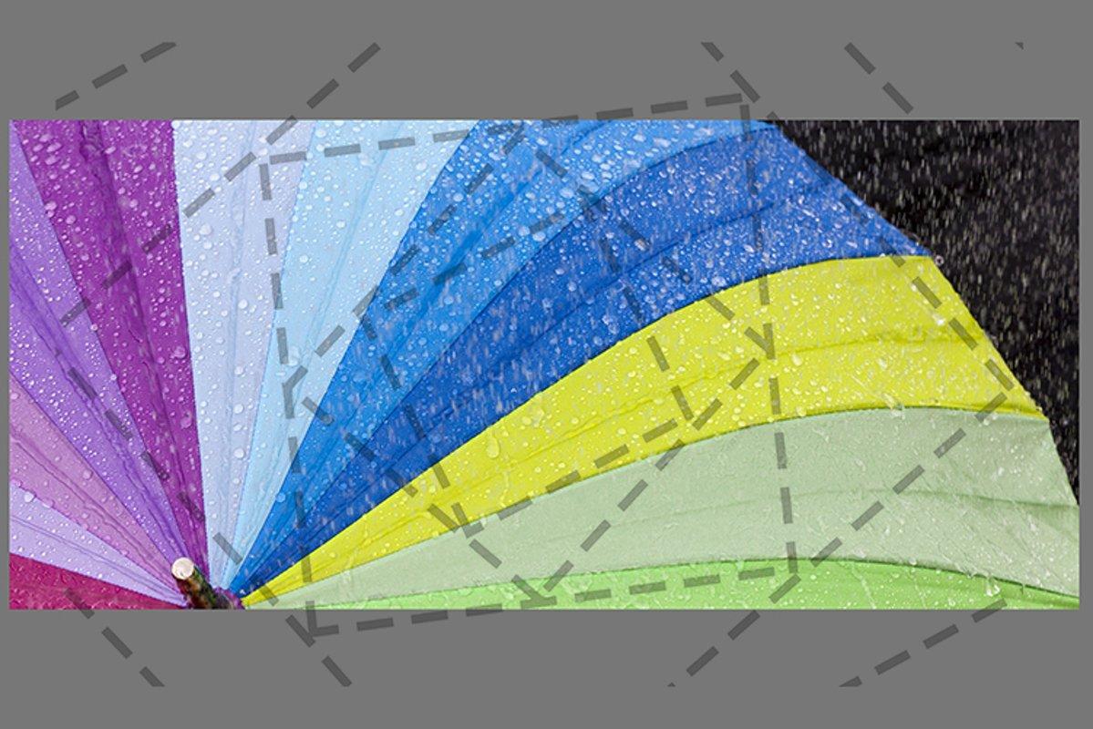 multicolored umbrella example image 1