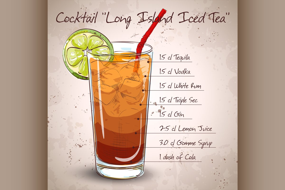 Cocktail Long Island Iced Tea example image 1