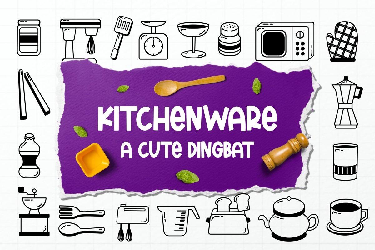Kitchenware Dingbat example image 1